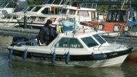 """Unsere """"CaJa"""", genau das richtige Boot für die praktische Ausbildung"""